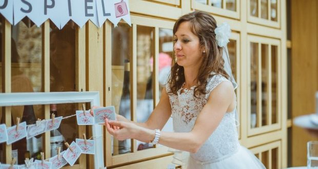Fotospiel für Hochzeitsfeiern