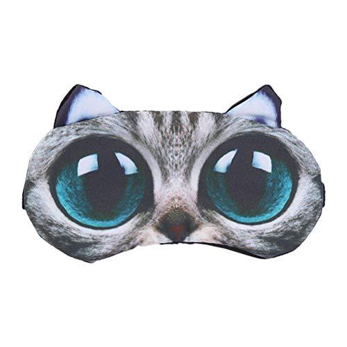 SUPVOX 3D Augenmaske Schlafmaske Schlafbrille mit Kühlkissen Heiß Kalt Therapie Augenbinde Schattierung für Männer Frauen für Entspannung Wellness